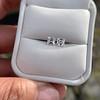 1.47ctw Carre Cut Diamond Pair GIA F VS2 40