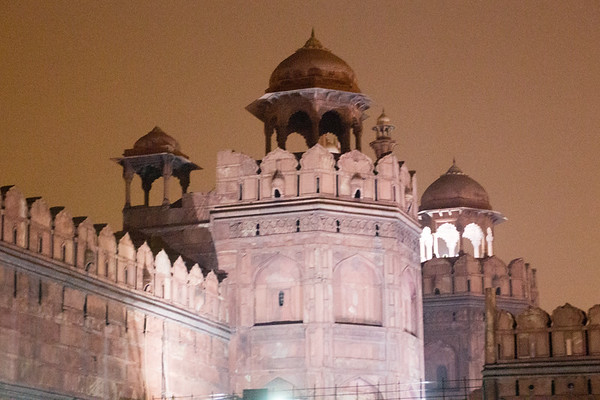 Red fort Light show - New Delhi, India - December, 2015