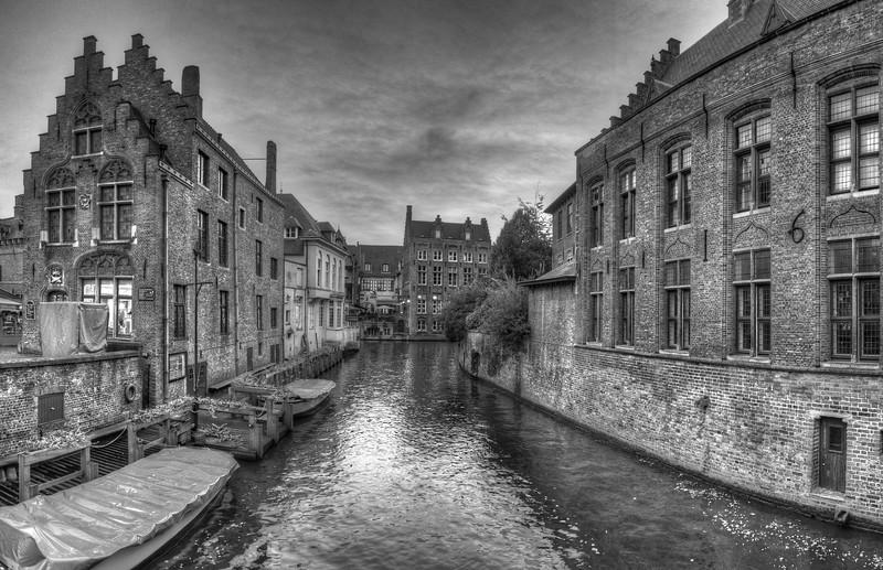 Canal - Brugge, Belgium - November 2, 2010