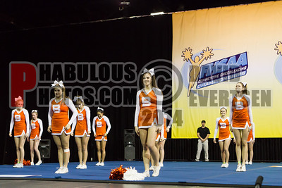 Varsity Cheerleading - 2013