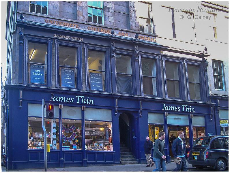 James Thin bookshop, South Bridge  (2003)
