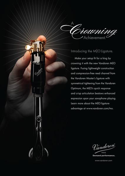 VAN 0111 MO Crowning Ad-Sax-A4.indd