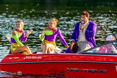 Waterski - Rock Aqua Jays [d] August 18, 2019 Home Show
