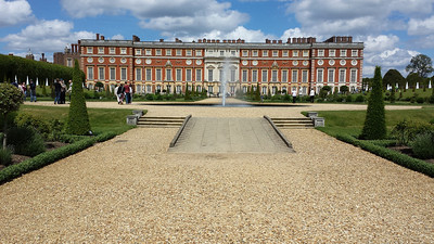 Hampton Court Palace 2014.