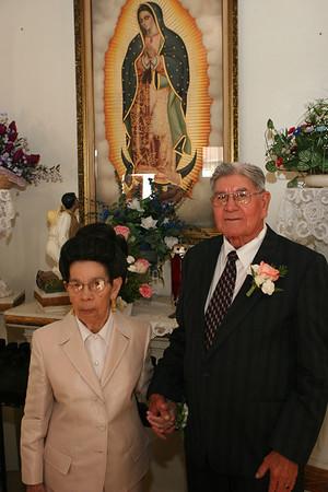 Lopez Anniversary Posed Church