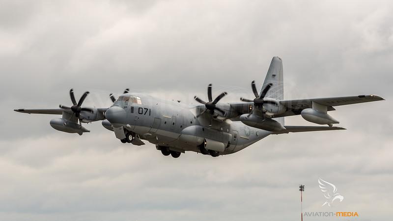 US Marine Corps VMGR-252 / Lockheed Martin KC-130J Hercules / BH-071 168071