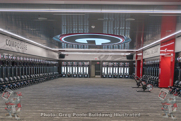 Locker Room and Recruiting Lounge Tour