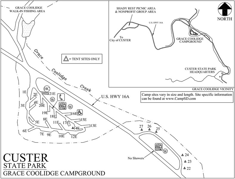 Custer State Park (Grace Coolidge Campground)