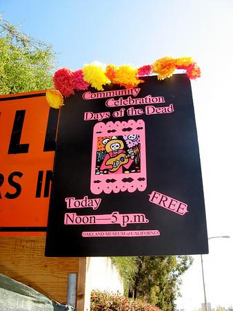 Dia de los Muertos-Oakland Museum of California 10/25/08