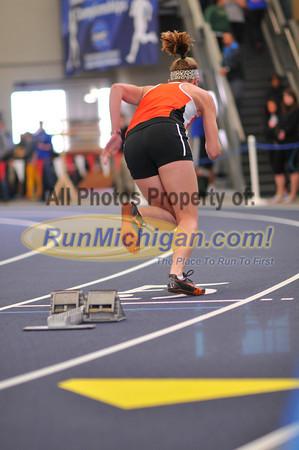 Women's 400 - 2014 GLIAC Indoor Meet