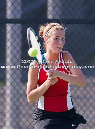6/10/2011 - MIAA Division 1 South Finals - Girls Varsity Tennis - North Quincy vs Needham