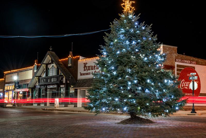 Manning Main Street Christmas Tree