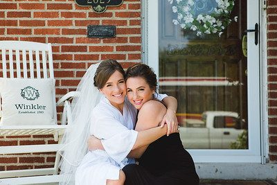 Bride Preparation - Kate and Dan