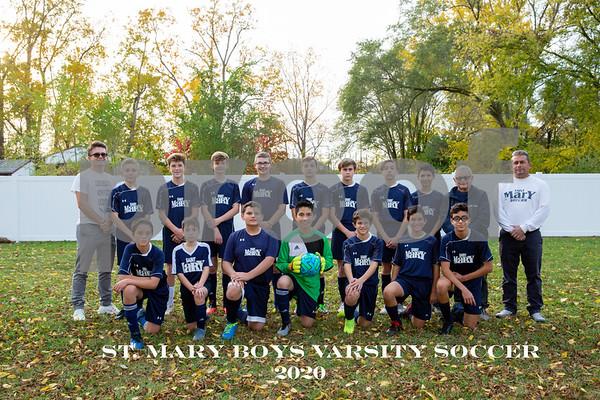 St. Mary Boys Soccer Varsity 2020