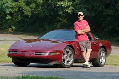 Corvette Portraits at Ridley 7-12-08