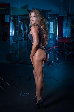 Debbie at Gym
