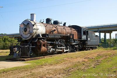 Marshal Depot w/Amtrak 10-03-08