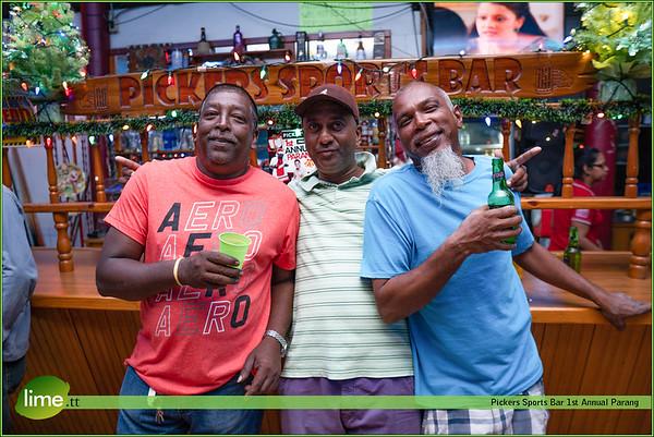 Pickers Sports Bar 1st Annual Parang