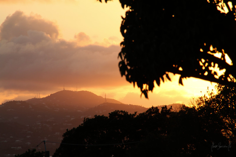 ST THOMAS AT SUNSET