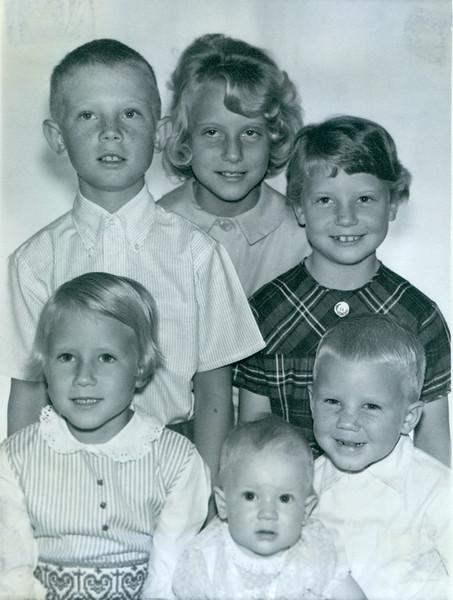 "Humpty Dumpty Photo.  Viv is ""5"". 1963"