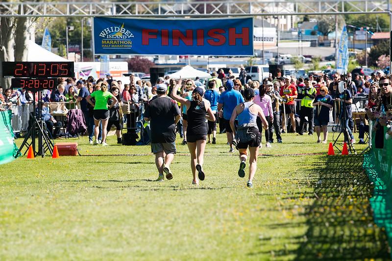 Whidbey Island Marathon Half Marthon - April 19, 2015