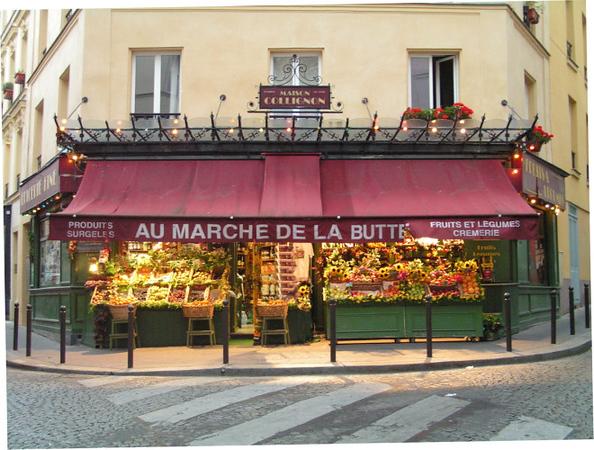 Paris Montmartre, filming location Amelie