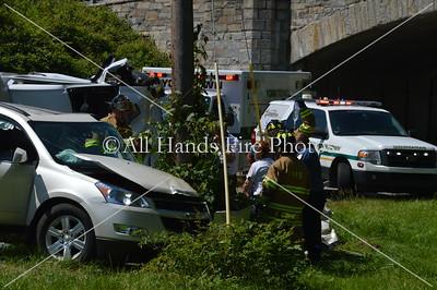 20130705 - Yorktown - Overturned Auto w/ Entrapment