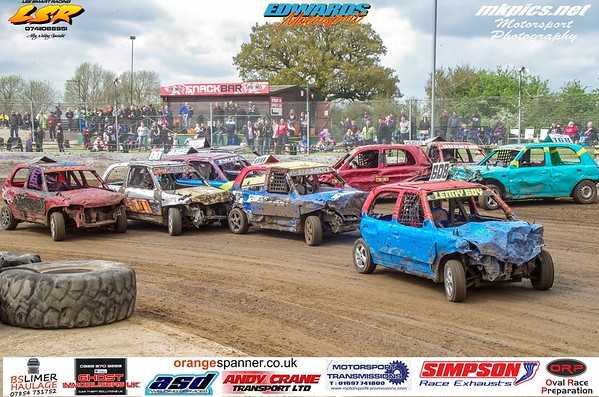 Junior Bangers, Northampton, 5 May 2019