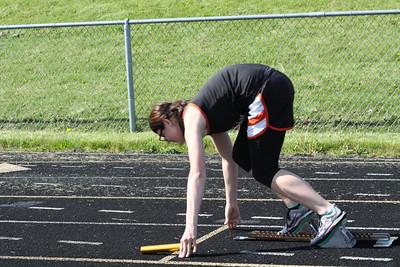 800 Meter Medley Relay - 2012 Mid Mich Invite