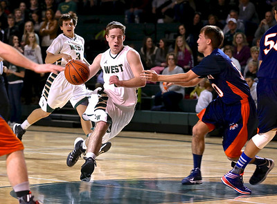 Zeeland West vs. Bridgman Boys Basketball