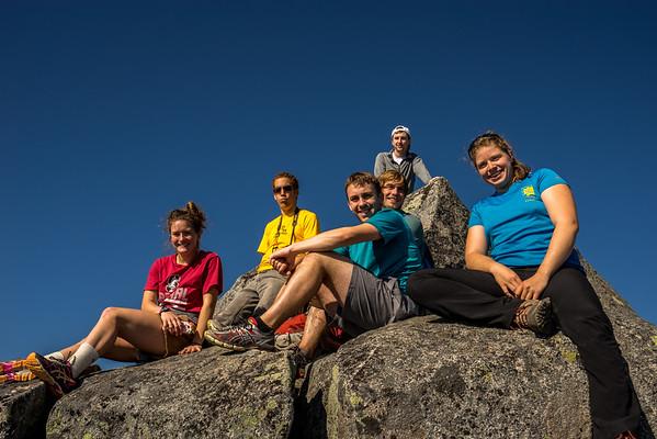 Vesper Peak Group Photos