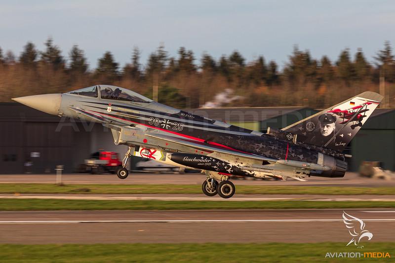 German Airforce / Eurofighter Typhoon EF2000 / 30+25