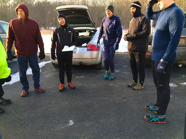 Feb 9th Sunday run - Crusty Goodness
