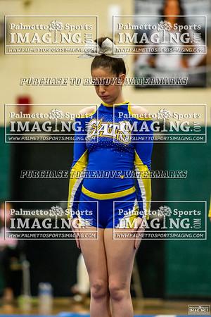 Lexington Middle School Cheer-Silverfox Invitational