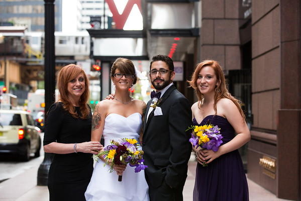 Albert and Poeta Wedding - Family
