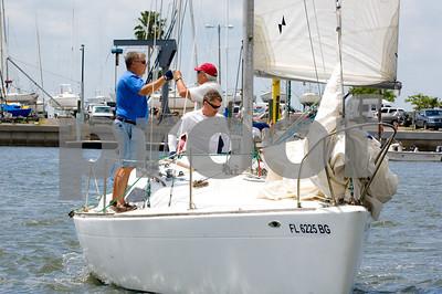 UN-Named Sailboats at Morgan Invasion 2007