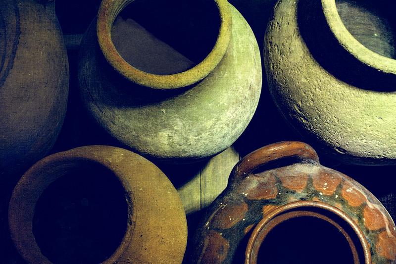 Rustic Pots