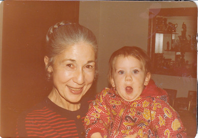 Gramma Edith's Black Album with Gold Trim