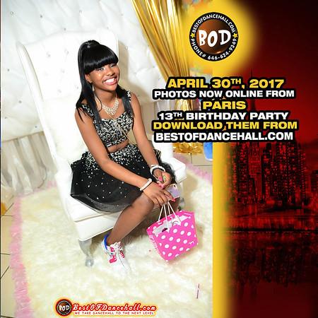 4-30-2017-BRONX-Paris 13th Birthday Party