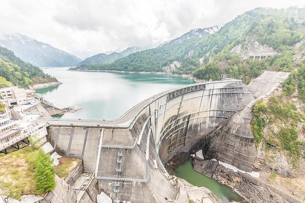 Kurobe Dam, Alpine Route
