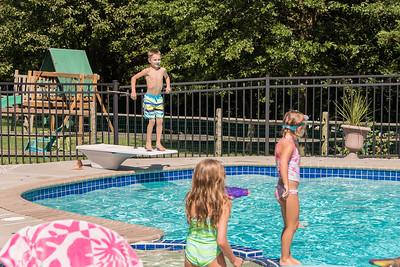 Shelman Pool Day