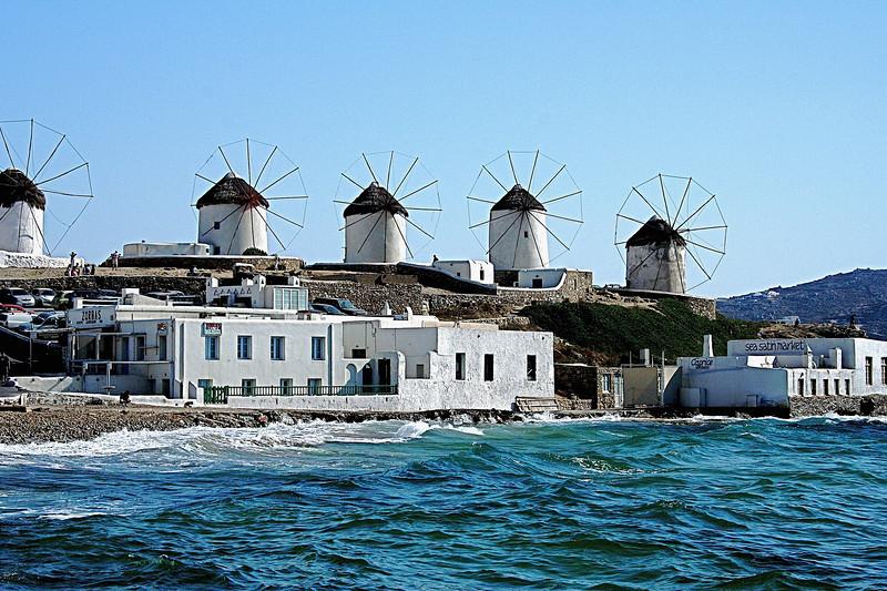 Mykinos Windmills