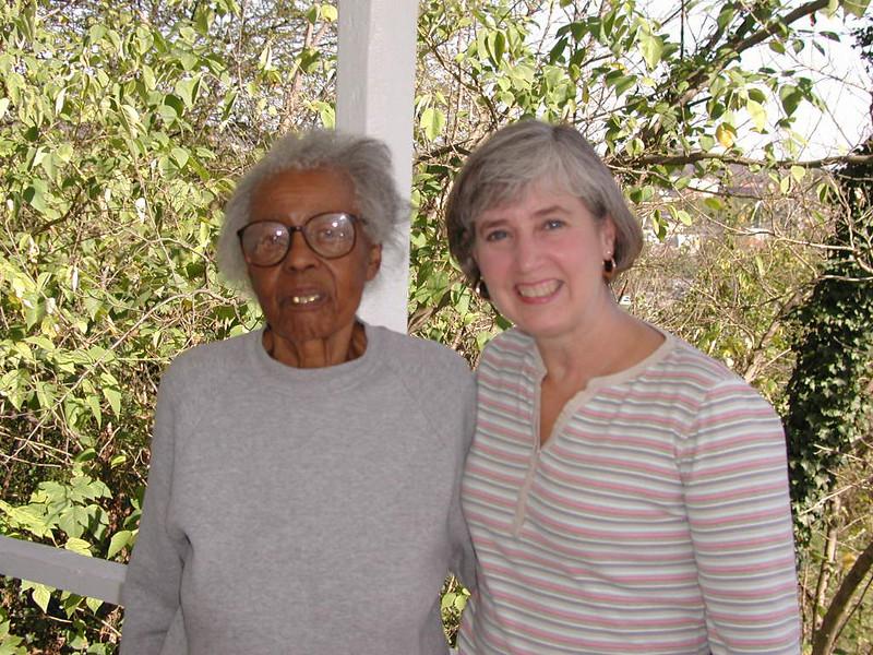 Jenny and Aunt Clara.