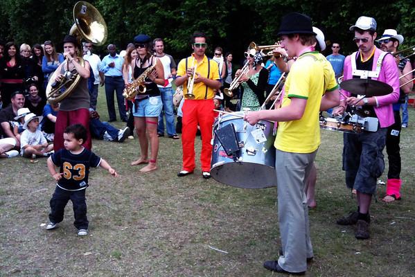 French Garden Party in Battersea Park (London)