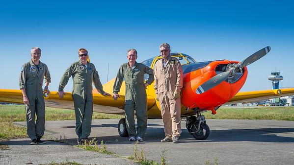 Overflyging Kapt Meland minneseremoni