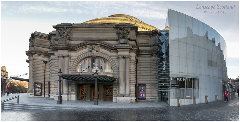 Usher Hall with extension
