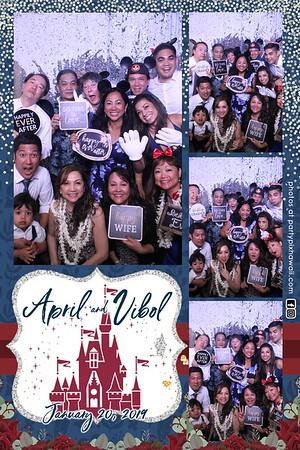 April & Vibol's Wedding (Magic Mirror Photo Booth)