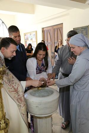 Mary Elizabeth 's Baptism 9/30/2017