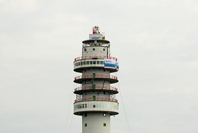 Opbouw TV toren Smilde
