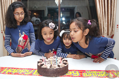 Neha's 6th B'day at home